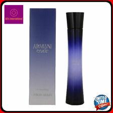 Armani Code By Giorgio Armani 2.5oz Eau De parfum Spray New Sealed Box