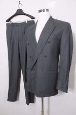 Tiziano Italian Wool Luxury Suit OresteBoggioCasero Sz 38 chest 32 waist Vintage