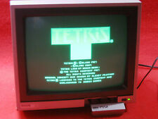 Philips bm7552 Monitor Monochrome phosphors Green Retro Computer msx atari
