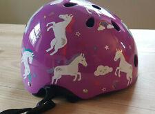 Mini Hornit Lids  Fahrradhelm Einhorn lila Größe S 48-53