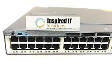 WS-C3750X-48T-L - Cisco Catalyst 3750X 48 Port LAN Base 350W AC  *Same Day Ship*