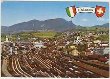 CHIASSO - PANORAMA - STAZIONE FERROVIARIA - CANTON TICINO (SVIZZERA) 1968