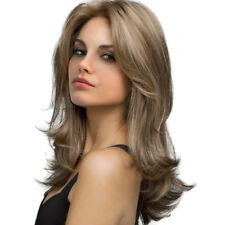 """22"""" Fluffy Natural Long Curly Light Blond Wig for Cosplay /Daily Use"""