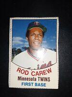 1977 Hostess Rod Carew #9 Twins Hand Cut