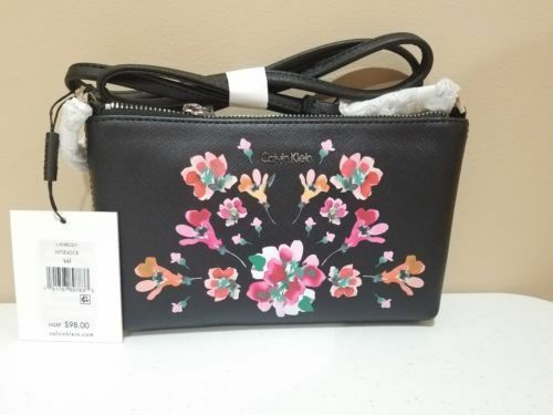 81b38652ba1 Sell Calvin Klein Floral Leather Bags & Handbags for Women | eBay
