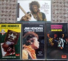 4 JIMI HENDRIX AUDIO CASSETTES