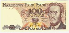 Poland 1986 - 100 złotych; seria ST; Fi 075, Mi 166 - UNC