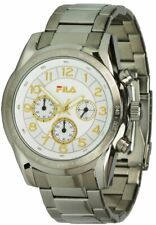 Fila Watches Quartz FA4123-16 Men's Chronograph Stainless Steel Band