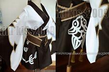 Final Fantasy XIV14 Cosplay Kimono Dress-Pattern Print Costume Custom Made Order