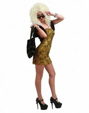 Womens Adult Sexy Deluxe Money Honey Hooker Striper Pimp Dress Costume Outfit