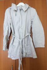 IKKS Womens Cotton Jacket, Sport, Spring Summer, Ice White, Size 42 (L/M) Parka