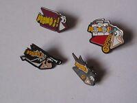 Lot de 4 Pin's Promo's