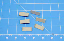 DELTON / ARISTOCRAFT (6) WINDOW SHADES FOR LONG CABOOSE OR KITBASH G SCALE