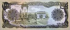 Afghanistan 1000 Afghanis 1991 Afghan Banknote Very Rare Afghani Paper Money UNC