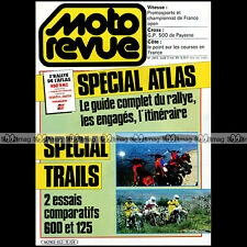 MOTO REVUE N°2653 YAMAHA XT 600 DTLC 125 KAWASAKI KLR HONDA XLR MTX SUZUKI TS X