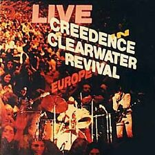 Creedence Clearwater Revival / Live In Europe - 2 Vinyl LP 180g