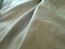 Two tone Dupion silk in a green / beige colour £10.50/m 1.10m wide