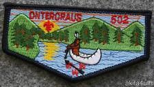 "OA Lodge 402 Onteroraus (S12) Error ""502"" - Otschodela Council - BSA"