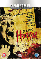Greatest Ever Classic Horror Collection (DVD, 2008, 5-Disc Set, Box Set)