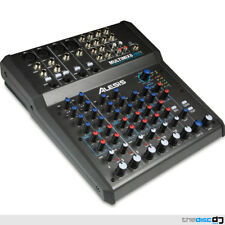 Alesis Multimix 8 USB FX, Home Recording Studio Mixer, Audio Interface, Software