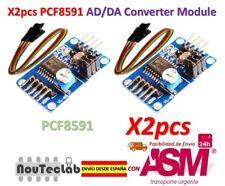 2pcs PCF8591 AD/DA Converter Module Analog To Digital Conversion + Cable