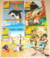 Lot de 4 SPIROU N°2547/2548/2549/2550 Pierre Tombal