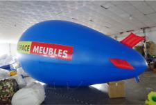 5M 16ft Giant Inflatable Helium Flying Balloon Advertising Blimp Free Logo  b