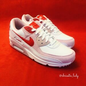 Nike Air Max 90 Valentine. Red Pink. Size UK 8.5.