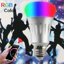 E27 7W WiFi  Wireless Remote Control Smart Bulb Lamp Light For Amazon Echo Alexa