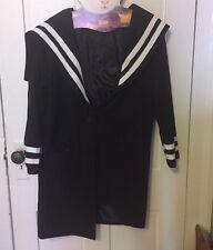 Kawaii Lolita Sailor Coat Women's S/M Harajuku Korean Fashion