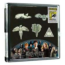 Harry Potter Pewter Pin 5-Pack, San Diego Comic-Con 2017 Exclusive in Display