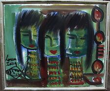 Louis Zelig 1922-1993, Komposition Mädchen mit Fisch