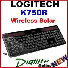 Logitech K750R Advanced 2.4GHz Wireless Solar Keyboard Light-Powered
