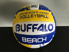 Brand New Buffalo Brand Soft Touch PVC White/Blue/Gold Size 5 Beach Volleyball