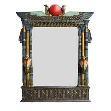 """Large Ancient Egyptian Cobra Wall Mirror Plaque 25"""" Height Sculpture Decoration"""