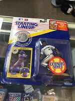 KEN GRIFFEY JR Seattle Mariners Starting Lineup SLU MLB 1991 Figure, Coin & Card