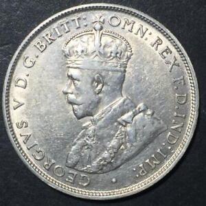 1923 Florin Full Centre Diamond