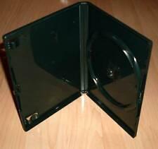 3 DVD Hüllen Case Cases 1fach DVDhülle Hülle grün dunkelgrün farbig 1er Neu