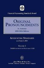 2005 Original Pronouncements (Accounting Standards Original Pronouncements; 3-Vo