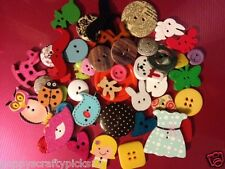 JOB LOT MIXED ASSORTED PACK 50 BUTTONS CARD MAKING SEWING CRAFT EMBELLISHMENTS