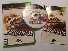 ORIGINAL XBOX GAME BATTLEFIELD 2: MODERN COMBAT +BOX INSTRUCTIONS COMPLETE PAL
