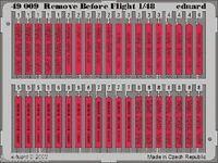 Eduard 1/48 Remove Before Flight Tags 49009