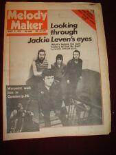 MELODY MAKER 1979 MAR 31 DOLL BY DOLL BAD COMPANY DIRE STRAITS PINK FLOYD PUNKS