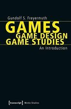 Cultural and Media Studies: Games - Game Design - Game Studies : An...