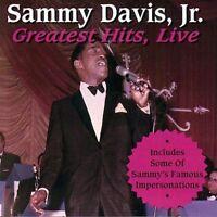GREATEST HITS LIVE CD SAMMY DAVIS JR. NEW SEALED