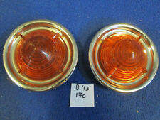 Original NOS Lucas L539 lens and Rim Pair, Riley One Point Five, Austin A50, A55