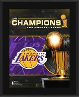 "Los Angeles Lakers 10.5"" x 13"" 2020 NBA Finals Champions Sublimated Plaque"