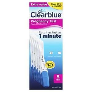Clearblue Pregnancy Test Rapid Detection 5 Tests