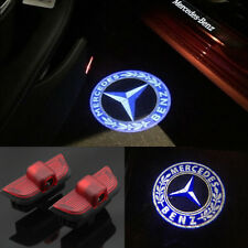 2x LED door step courtesy laser projector lights For Benz C-Class W204 2008-2014