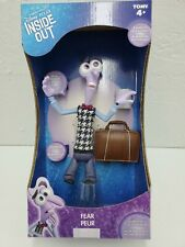 Disney Inside Out Large Figure, Fear With Briefcase Squeeze Sound.